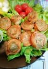 豚バラ肉と大葉の肉ロール