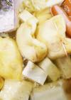 鶏巾着と鱈のお鍋