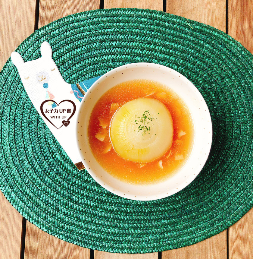簡単!玉ねぎまるごとスープ
