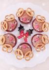 トナカイ カップケーキ☆クリスマスケーキ