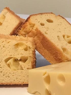 *糖質制限☆ふわもち簡単チーズシフォン*