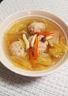 """スープ&鍋に合う肉団子*˙﹀˙*)ノ"""""""