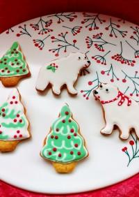 アイシングクッキーでクリスマス