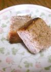 小豆と出がらし茶葉のパウンドケーキ