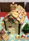 2019 クリスマス お菓子の家