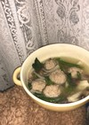 簡単!肉団子スープ