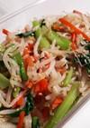 お弁当にも もやしと小松菜と人参のナムル