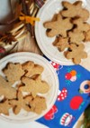 クリスマス☆米粉ジンジャークッキー
