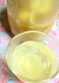 はちみつの容器で、柚子茶作りました~