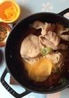 冬至 柚子 豚素麺 簡単 年末厄落とし