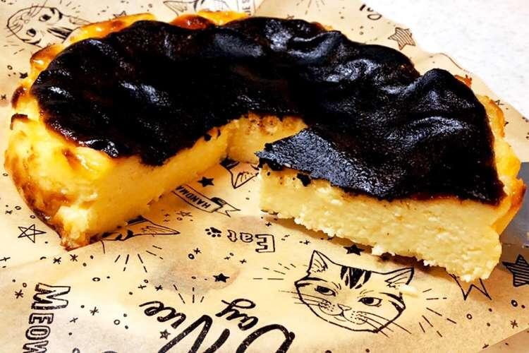 チーズ レシピ 18cm ケーキ バスク
