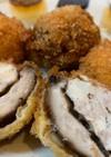 鶏豆腐ミンチ3「椎茸鶏ミンチフライ」