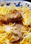 炙り鶏とタラコの超濃クリームパスタ