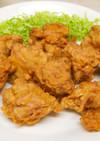 たこ焼き粉と紅生姜でつくる鶏唐揚げ