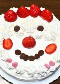デコレーション♪ショートケーキ♪