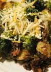 ポテト&ブロッコリーのミートソースサラダ