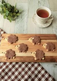 型なし★ハリネズミのデコクッキー