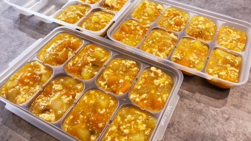 【離乳食完了期・幼児期】芋鶏とろみ
