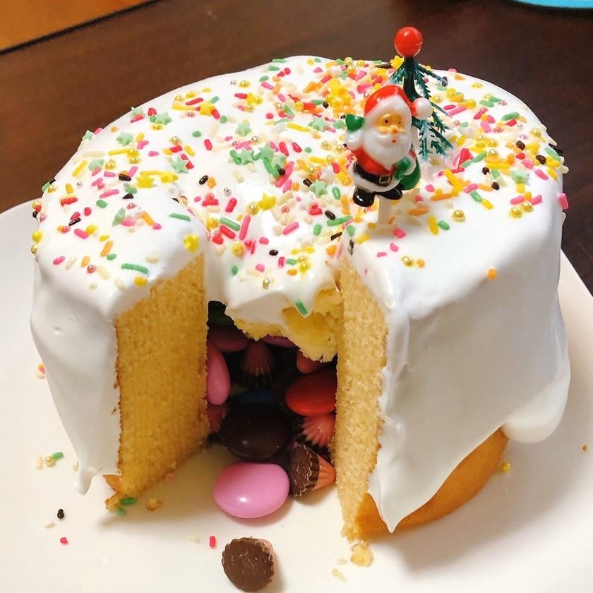 バウムでかくれんぼケーキ*ギミックケーキ
