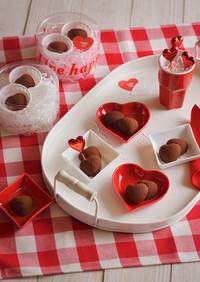 レンジで完成♪バレンタイン濃厚生チョコ