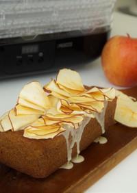 フードドライヤーでアップルのケーキ