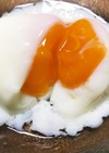 低温調理器で温泉卵