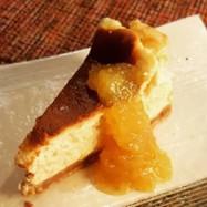 柚子のチーズケーキ。(o^^o)♪