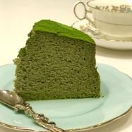 *糖質制限☆簡単抹茶スフレチーズケーキ*