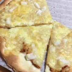 明太子餅ピザ