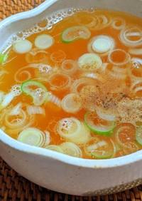 ラーメン屋さんの炒飯スープ