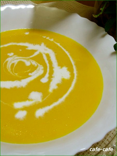 かぼちゃスープ☆簡単お手軽バージョン