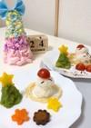 離乳食☆子どものご飯☆クリスマス☆