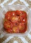 超簡単!ミニトマトの南蛮漬け風