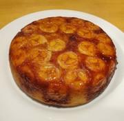 炊飯器とHMで簡単♪カラメルバナナケーキの写真