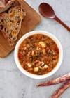 キヌアとケールのビーンズスープ