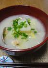 白菜のみそミルクスープ