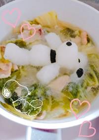 白菜と豚バラ肉のミルフィーユ鍋♡