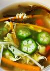 ☆のスープ。