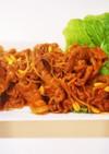 韓国料理 チェユポックン(豚肉の辛炒め)