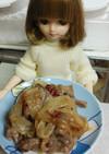 リカちゃん♡きょうの大根と牛肉の甘辛煮