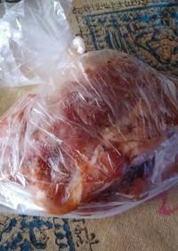 四日市トンテキ風鶏肉(簡単)