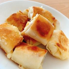 簡単!美味しい!チーズウィンナー春巻き