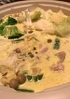 カレークリーム鍋