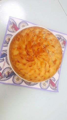 焼き芋・HM・リンゴで簡単HMケーキ
