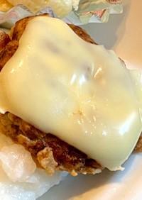 【離乳食後期9ヵ月〜】チーズハンバーグ