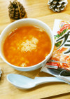 夜食グルメ★プチッと鍋deキムチ風雑炊