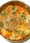 牛肉とキャベツのスープ♪簡単コンソメなし