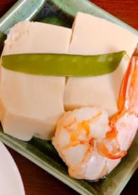 エビと高野豆腐の含め煮