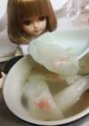 リカちゃん♡カニカマ雲呑スープV・・V