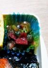 お弁当の副菜~オクラの梅和え